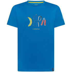 La Sportiva Breakfast T-shirt Herrer, blå
